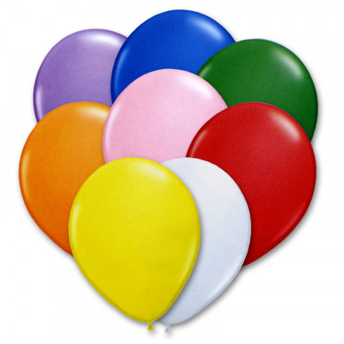Pastelové balónky 27 cm