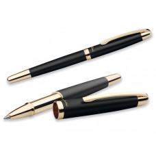 EZEKIEL ROLLER kovové keramické pero, modrá náplň, SANTINI