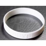 Silikonový náramek 12 mm šířka