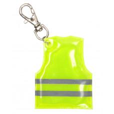 """""""Pit Lane"""" přívěšek na klíče s mini reflexní vestou"""