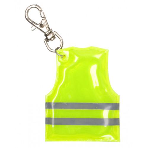 Pit Lane přívěšek na klíče s mini reflexní vestou