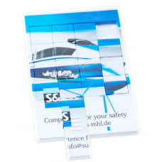 USB puzzle karta