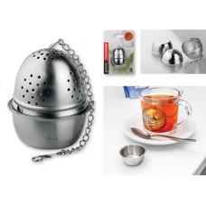 PRESTO TEA vajíčko na čaj s miskou z nerezavějící oceli, TESCOMA, stříbrná